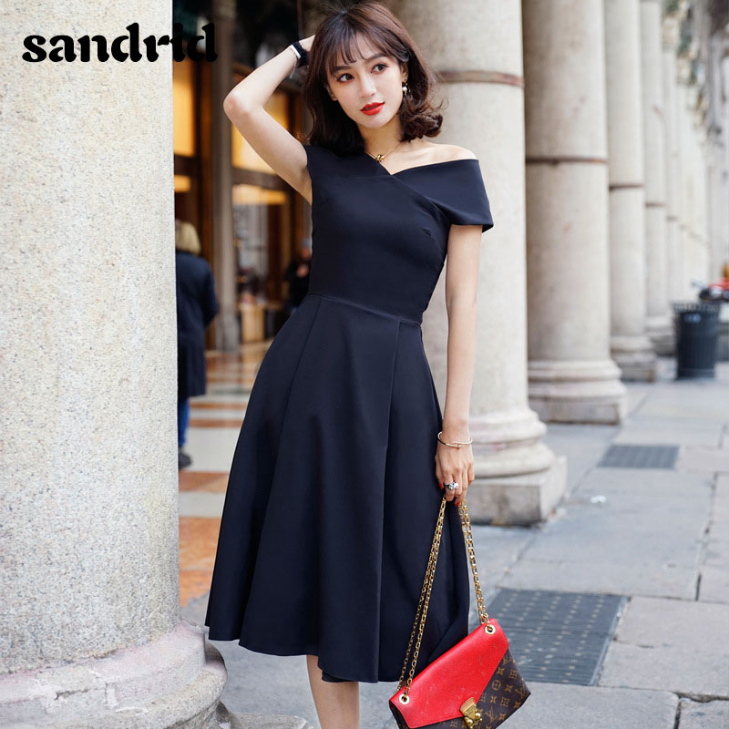 2019 new woman's summer <font><b>black</b></font> host small <font><b>dress</b></font> <font><b>sexy</b></font> party <font><b>slim</b></font> <font><b>dress</b></font> bodycon elegant <font><b>dresses</b></font> image