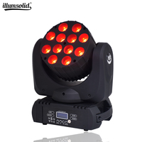 lyre led wash DMX Stage Light Moving Head LED Beam 12X12W Professional Stage DJ
