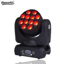 lyre led wash DMX Stage Light Moving Head LED Beam 12X12W Pr