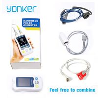 Yonker Medical Fingertip Handheld Pulse Oximeter blood oxygen Heart Rate Monitor Adult Infant Newborn Neonatal Child Baby Kids