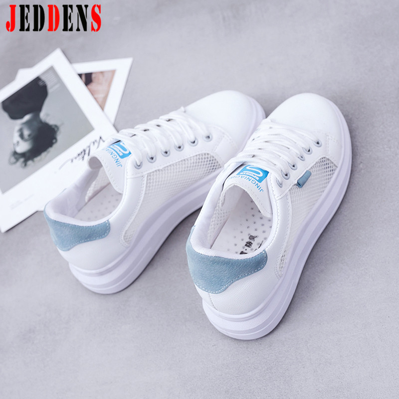 Low Sneakers Women's China Style Embroidered Trainers Women Sport Shoes Mesh Hollow Women's Running Shoes Summer Woman Shoes Q7