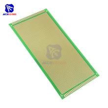Circuit-Board Soldering Printed Universal Prototype Arduino Green Single-Sided DIY Diymore