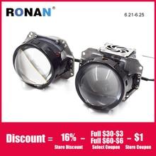 Ronan 3.0 Bi Led Projector Lenses Headlight 3R G5 6000K 34W 38W 3200lm Universal Car Headlamp Retrofit Styling