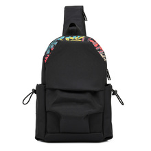 new camouflage chest sling bags vintage chest packs shoulder bag polyester small crossbody bag black chest bag sling bag leisure chest pack small size shoulder type unisex rucksack crossbody for man bag 4l polyester