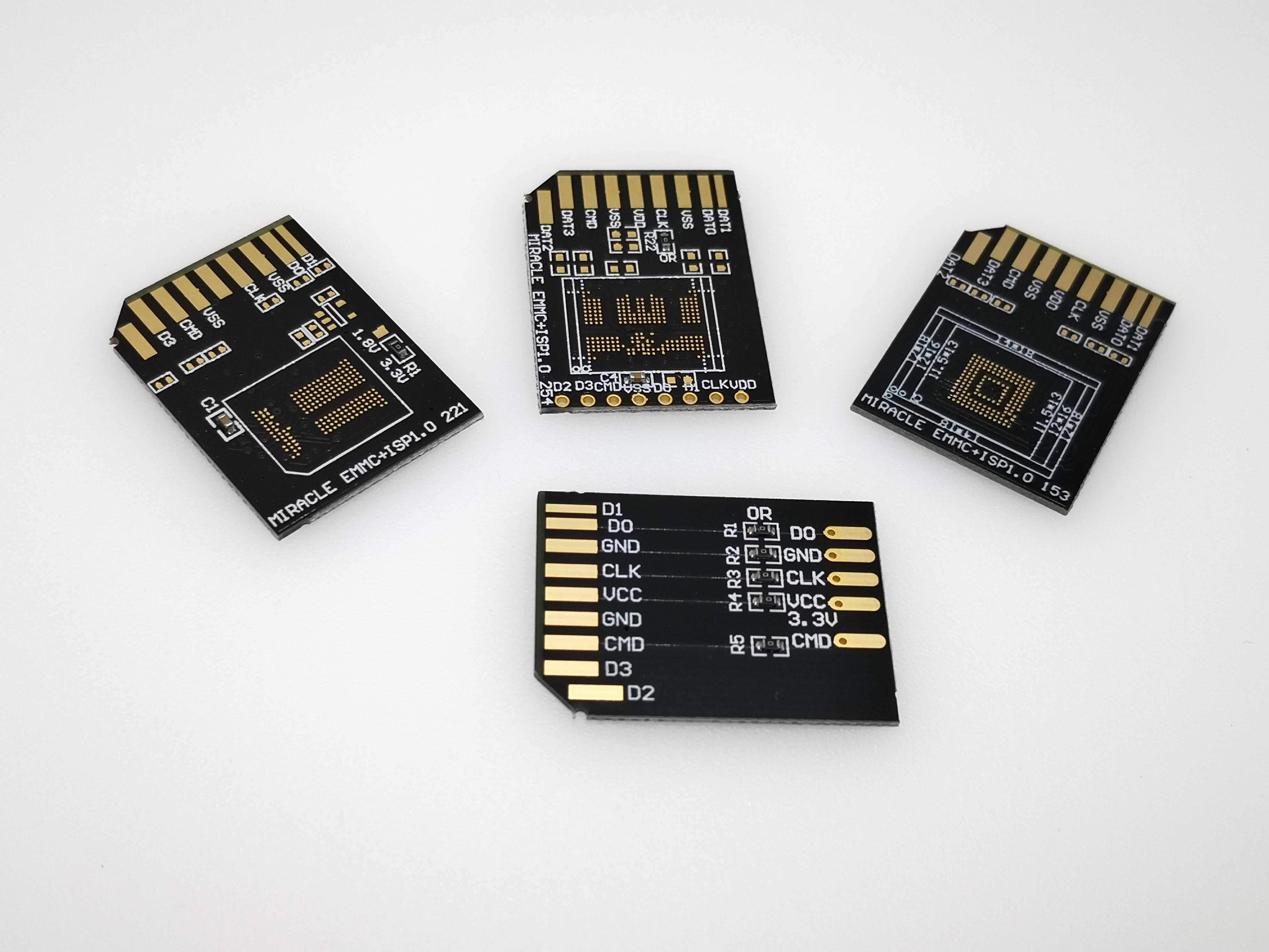 2020 ursprüngliche Miracle eMMC Plus adapter Werkzeug + Hardware 1,0 universal Bga 221,153,254 platte für mit Wunder donner box arbeit