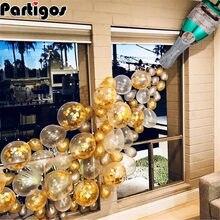 42 sztuk/zestaw balon szampański duże kieliszki do szampana butelka z foliowych lateksowych balonów ślub świąteczna dekoracja urodzinowa