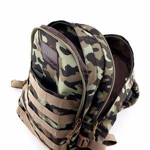 Image 2 - Wysokiej jakości PUBG Playerunknowns Battlegrounds poziom 3 instruktor plecak Outdoor expedition wielofunkcyjny plecak płócienny