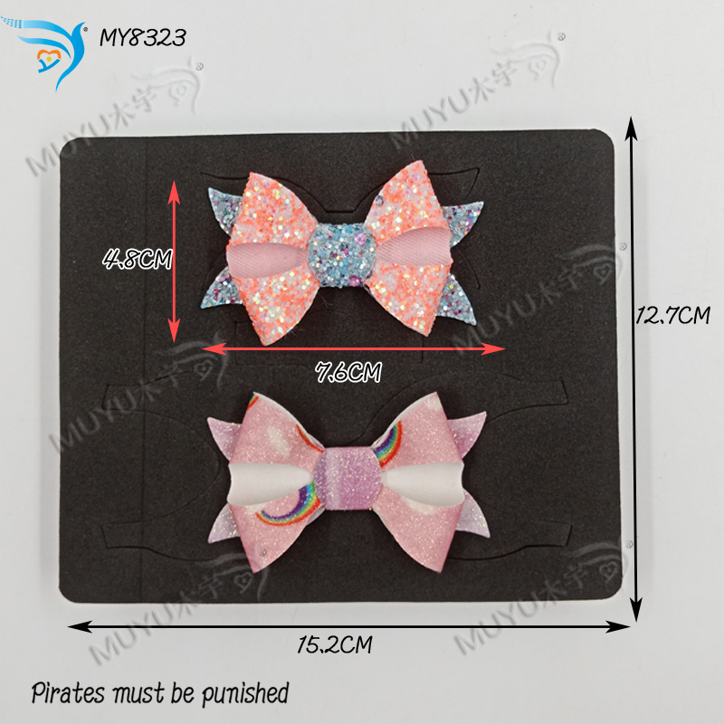 Fishtail Christmas tiara bow DIY  Wooden dies  cutting Scrabooking  MY8323-in Cutting Dies from Home & Garden    1