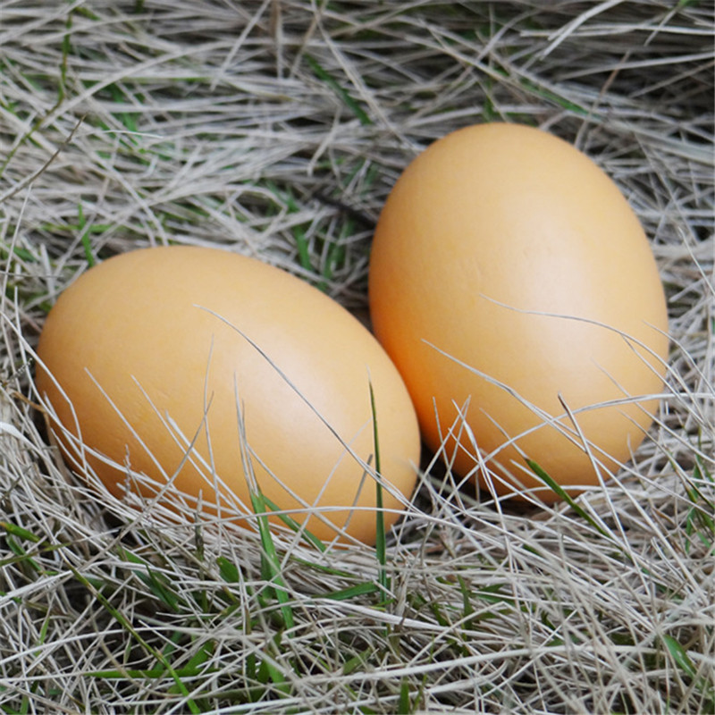 1 PCS Wooden Simulation Eggs DIY Painted Graffiti Eggs Pretend Kitchen Food Eggs Jokes Fun Creative Gifts Children Toys
