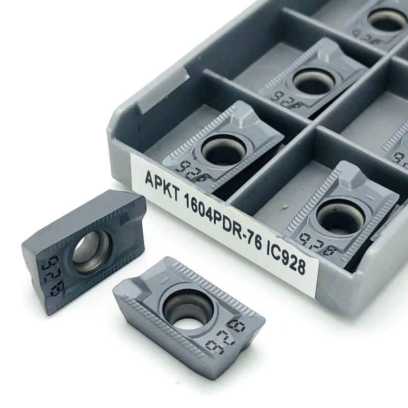 76 ic928 carboneto inserção fresagem torneamento ferramenta
