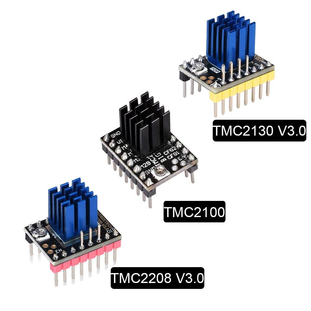 TMC2130 TMC2208 TMC2100 Stepper Motor Driver Stepstick Mute Driver MKS 3D Printer Parts SKR V1.3 Ramps 1.4 1.6 Control Board