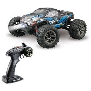 Image 4 - RC samochód do driftu bezszczotkowy silnik bezszczotkowy esc 2.4G RC samochód 4WD 52 km/h szybki Buggy monster truck antywibracyjny Drift Racing Toy
