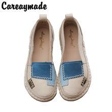 Туфли ручной работы careaymade на плоской подошве из натуральной