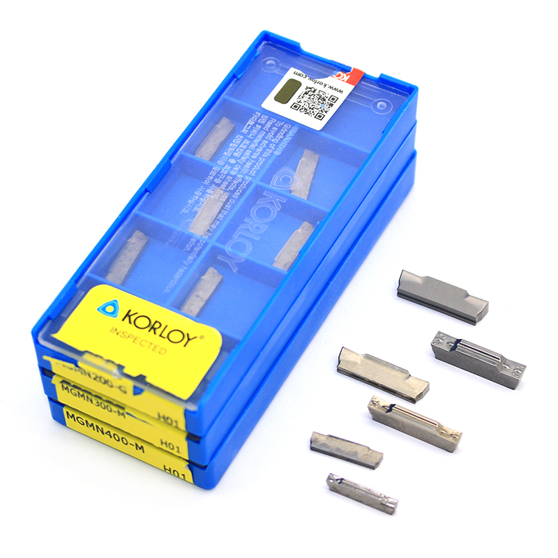 MGMN150 MGMN200 MGMN 250 MGMN300 4mm 5mm H01 Insert 100% Original Carbide Inserts Grooving Aluminum Blade CNC Lathe Cutter Tool