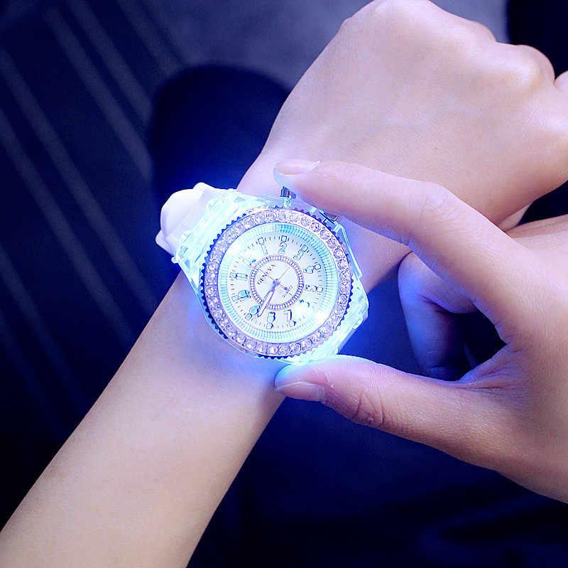 Delle donne Della Vigilanza Delle Donne Orologi TOP Brand di Lusso Unico Luminescente Orologio Femminile reloj mujer Relogio Feminino Signore Della Vigilanza relógios