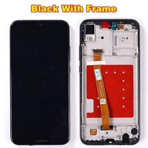 Image 5 - 10 Touch Huawei P20 Lite Display LCD Touch Screen Telaio di Montaggio Huawei P20 Dizigiter Lite ANE LX1 ANE LX3 Nova 3e LCD