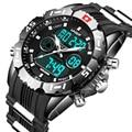 Часы HPOLW мужские  спортивные  водонепроницаемые  светодиодные  цифровые  армейские