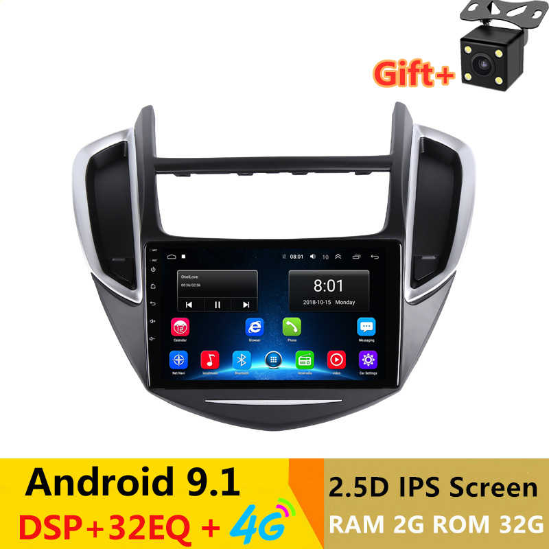 9 &quot2.5D IPS Android 1 автомобильный DVD мультимедийный плеер GPS для Chevrolet TRAX 2013 2014 2015 аудио