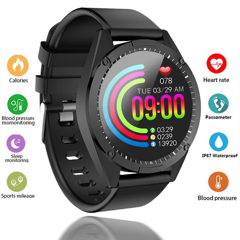 Smart Watch Men Women Smart bracelet OLED Screen Heart Rate Monitor Blood Pressure Fitness tracker Sport smartwatch Android IOS