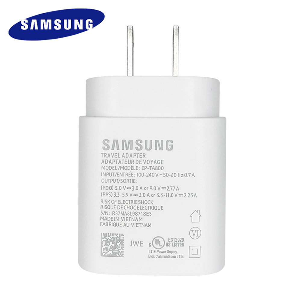 Samsung Note 10 Super Fast Charger PD PSS 25w Super Fast Charging Power Adapter Type-c cable For Galaxy Note 10 S10 mi9 k20 pro