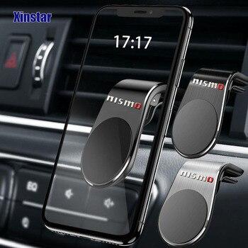 цена на Car phone holder sticker Car styling for Nissan nismo Altima Juke Murano Pathfinder Rogue Sentra Versa Teana Sylphy