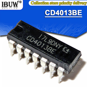 10PCS CD4013BE DIP CD4013 DIP-14 CD4013BD DIP14