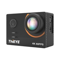 ThiEYE Action Camera 4K 60fps T5 Pro Underwater 60M Waterproof WiFi 2.0 Ultra HD Sport Cam Touch Screen Video Sports Camera