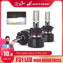 2 sztuk H4 H7 Led reflektorów samochodu H1 H4 H11 9005 HB3 9006 HB4 9012 D2S D2R H7 żarówka Led CSP 10000LM 6000K mały rozmiar żarówka reflektora samochodu