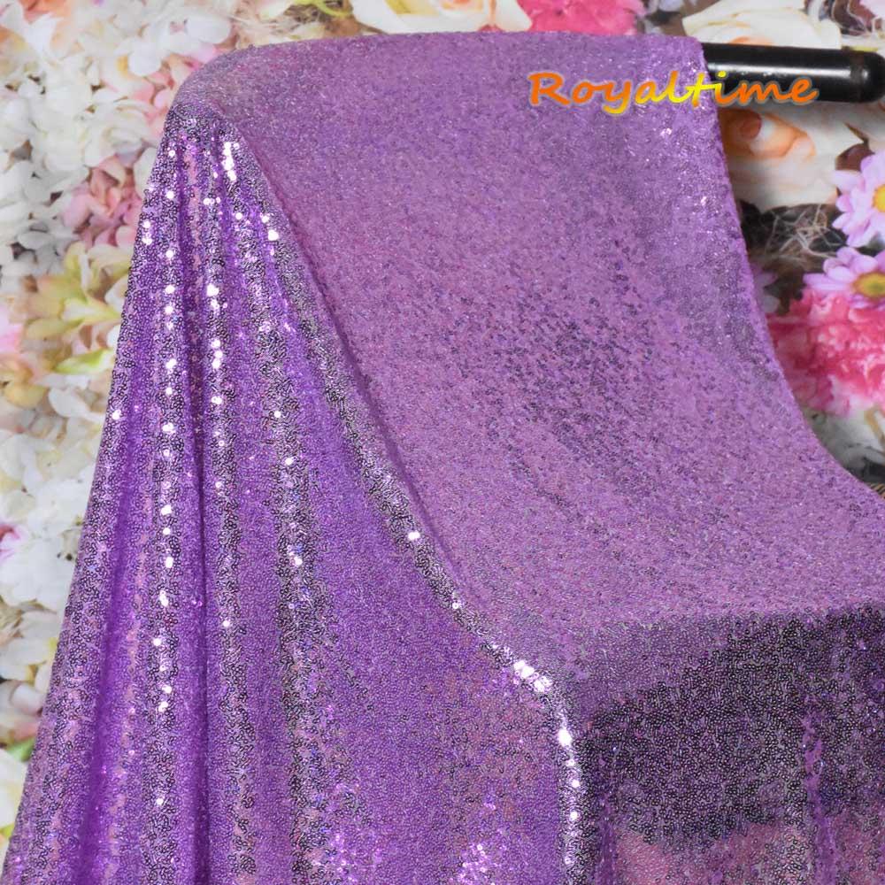 Lavender Sequin Fabric 002
