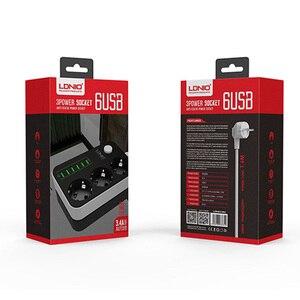 Image 5 - אלקטרוני כוח רצועת שקע האיחוד האירופי Plug 3 יציאות AC 6 USB טעינת יציאות עומס יתר הגנה הארכת 1.5M כבל רשת מסנן