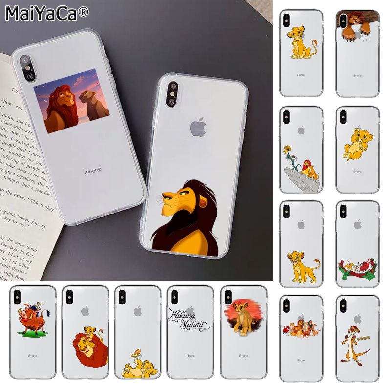 MaiYaCa The <font><b>Lion</b></font> <font><b>King</b></font> Best Transparent Phone <font><b>Case</b></font> for Apple <font><b>iphone</b></font> 11 pro 8 7 66S Plus X XS MAX 5S SE XR cover Mobile <font><b>Cases</b></font> image