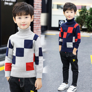 Image 2 - 2020 Fashion Boys Sweater Spring Winter Infant Boy Outerwear Cotton Sweater Kids Sweater Children Knitwear Sweater Brand Tops