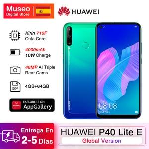 Глобальная версия Huawei P40 Lite E смартфон 4G 64G 6,39 ''48 МП Тройная камера разблокировка отпечатков пальцев EMUI 9,1 мобильные телефоны 4000 мАч