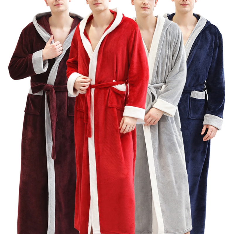 Pajamas Robe Velvet Flannel New Plus Thick And Fashion Winter Salon Beauty Section Autumn