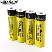 LiitoKala – batterie lithium Rechargeable 2021, 18650 V, 3.7 mAh, pour bricolage pointu, nouveauté 3500