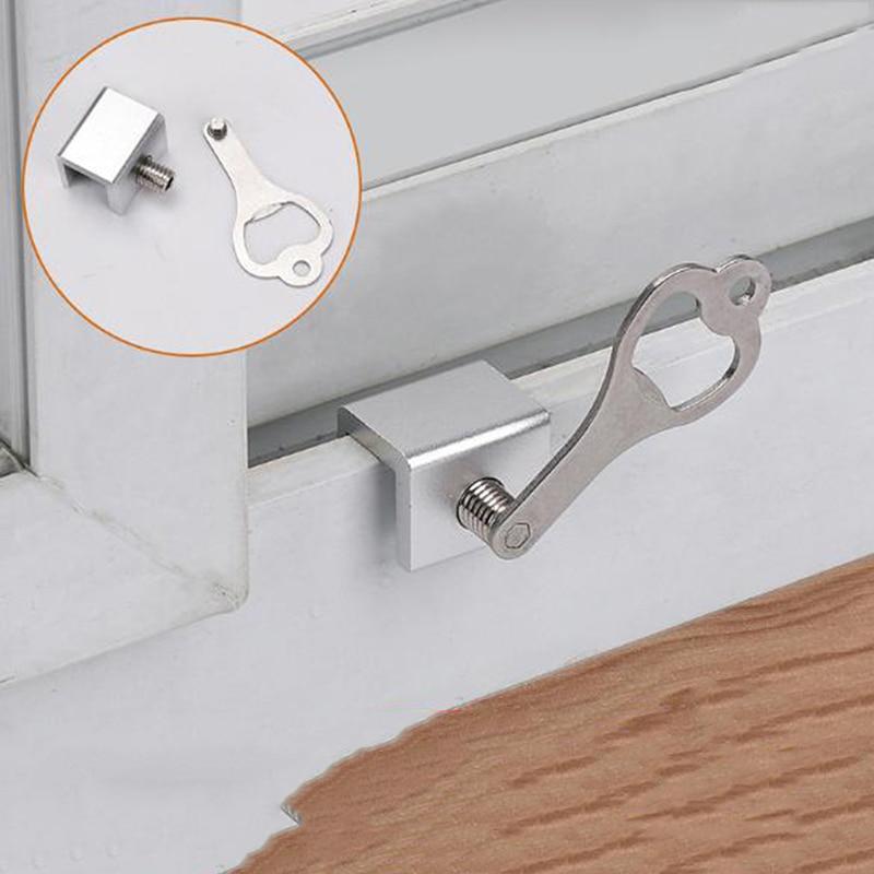Child Safety Lock Move Window Sliding Windows Lock Security Sliding Sash Stopper Locks On Windows Lock Window Stoppers