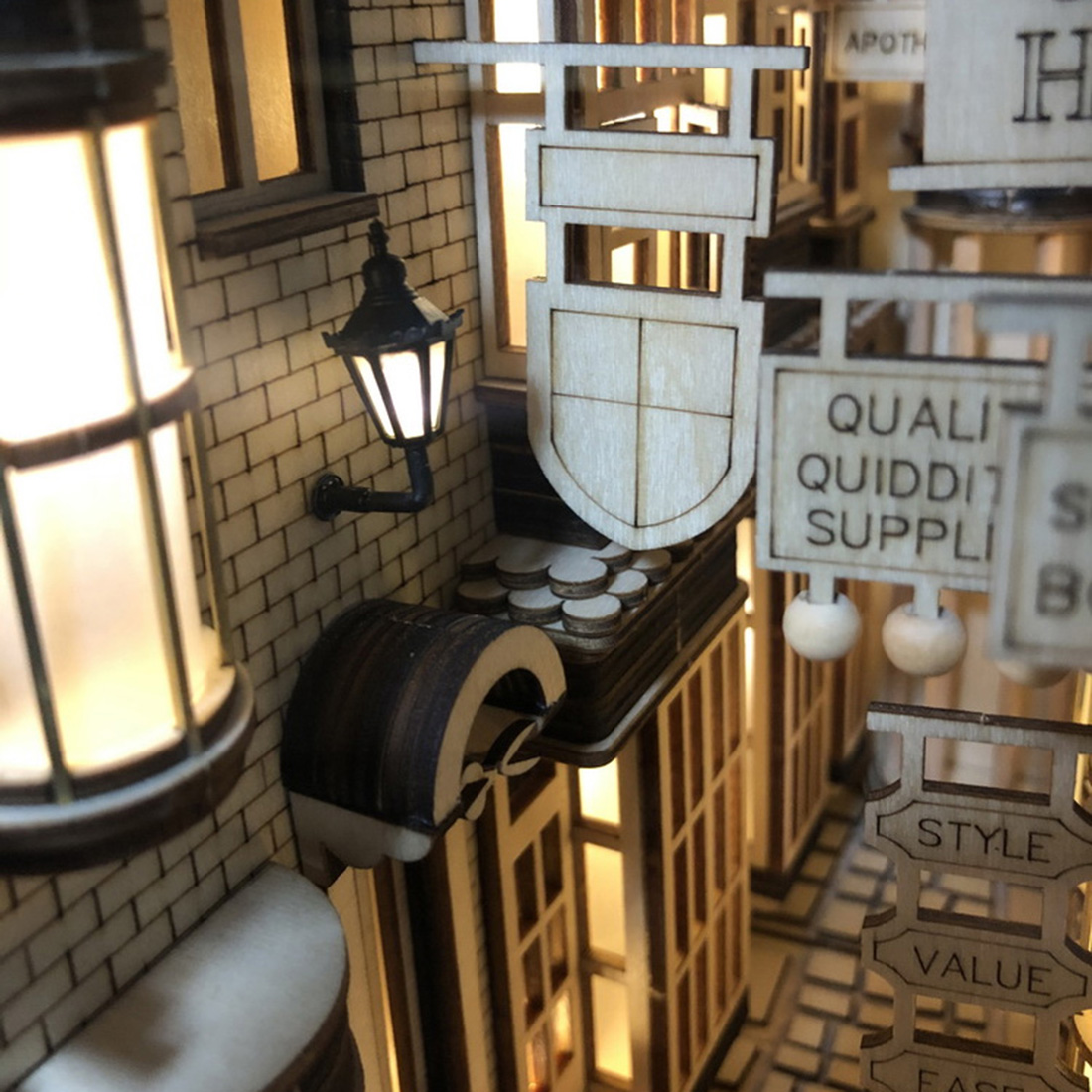 Hcf4c25481b7b4805a6e305f549580c7aC - Robotime - DIY Models, DIY Miniature Houses, 3d Wooden Puzzle