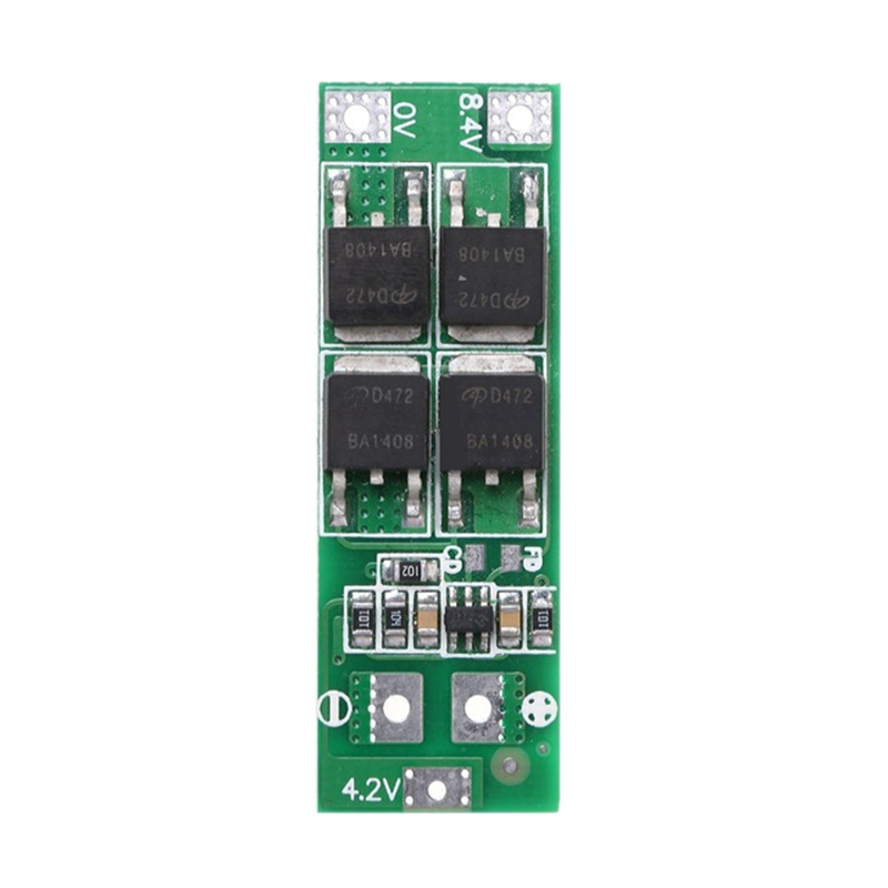 <font><b>2S</b></font> <font><b>20A</b></font> <font><b>7.4V</b></font> 8.4V 18650 Lithium Battery Protection Board/Bms Board Standard image