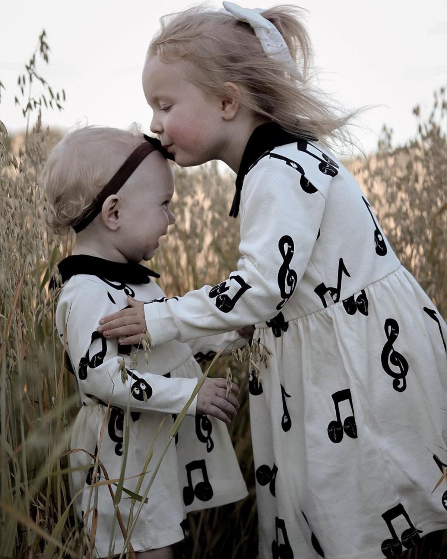 2021 New Autumn Winter Rose Note Dresses MR Brand Baby Girl Clothes Christmas Dress Kids Toddler Girls Cardigan Children Fashion 2