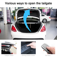 Electric tailgate for Mercedes Benz W213 W205 W222 intelligent remote control tail box open trunk door lifting foot sensor