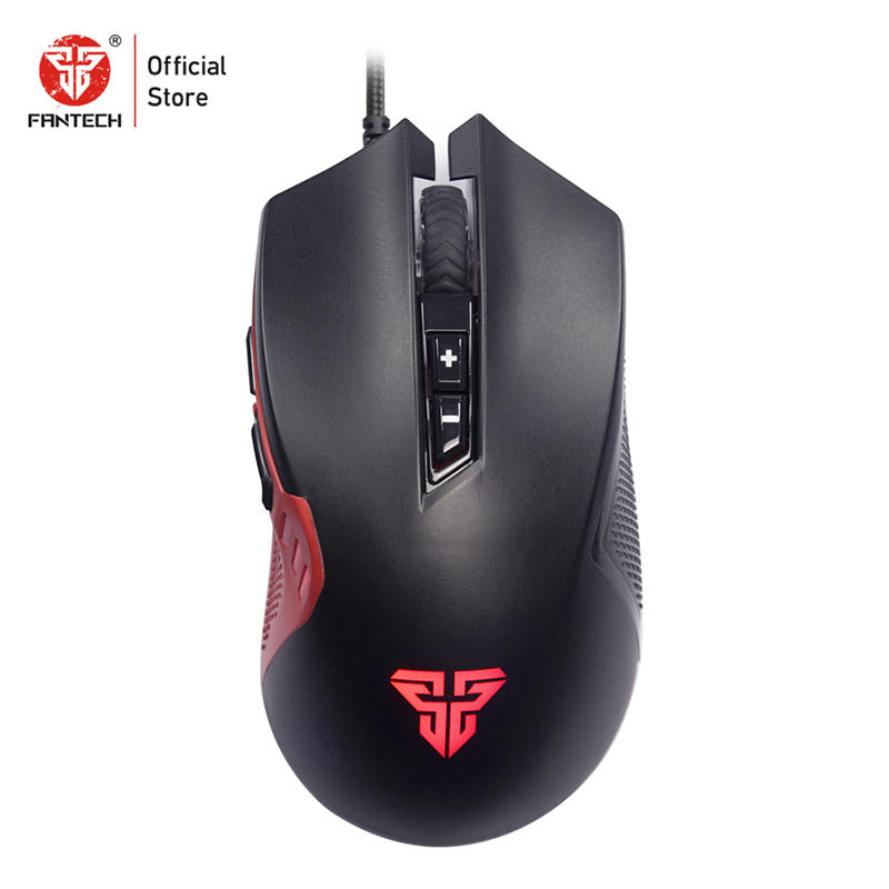 Image 5 - FANTECH X15 Optical Wired Gaming Mouse Adjustable 4800 DPI 20 million cycle 7 Button Macro Professional mouse gamer for pc game-in Mice from Computer & Office