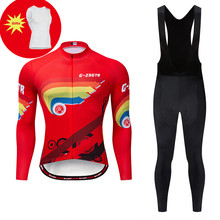 2019 Winter Men's Cycling Jersey Set Ropa Ciclismo Invierno Hombre Thermal Fleece Cycling Kit Wear Keep warm Bike Clothing Suit santic cycling jersey sets men 2018 autumn winter road bike cycling clothing fleece keep warm bicycle jacket ropa ciclismo