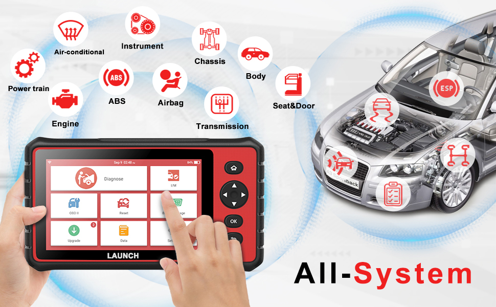 cheapest Ancel FX2000 OBD2 Automotive Scanner ABS SRS Airbag Transmission Engine Diagnostic Tool OBD 2 Car Professional Auto Scanner Tool