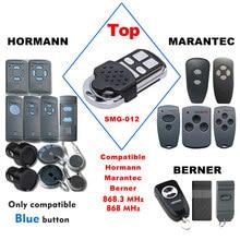 Hormann hsm2 hsm4 868 porta de controle remoto duplicador marantec digital d302 382 868mhz abridor porta garagem comando transmissor