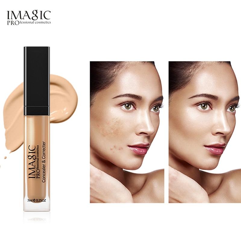 IMAGIC 6 цветов консилер макияж грунтовка для лица Контур лица Жидкая основа под макияж глаз Макияж