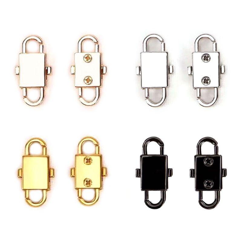 Shoulder Bag Chain Adjust Metal Buckles Length Shorten Screw Reinforcement Parts A69C