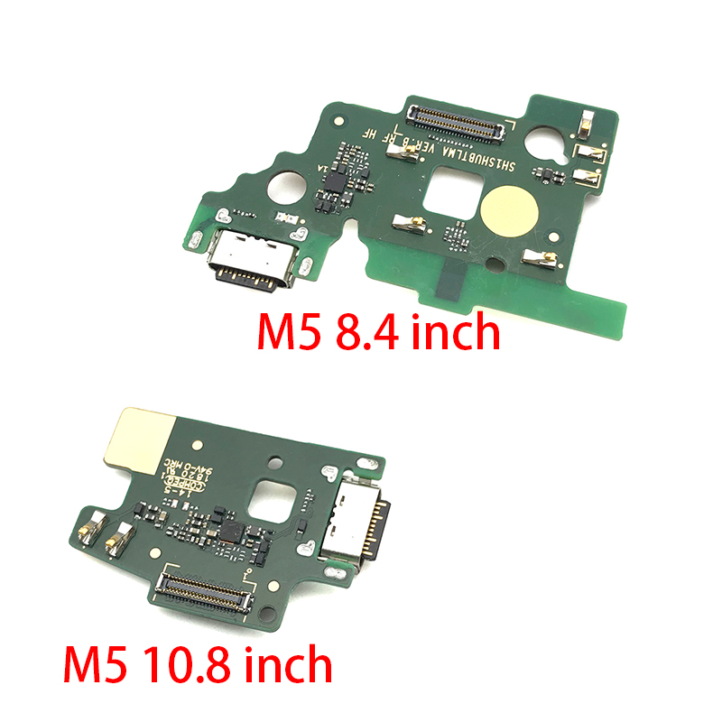 New For Huawei MediaPad M5 8.4 Inch & 10.8 Inch Tablet  USB Charging Port Dock Charger Plug Connector Board Flex Cable