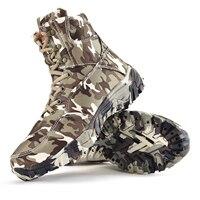 Ботинки походные мужские утеплённые износостойкие камуфляжные 1