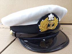 Японская Шерстяная кепка E.M.D темно-синего цвета
