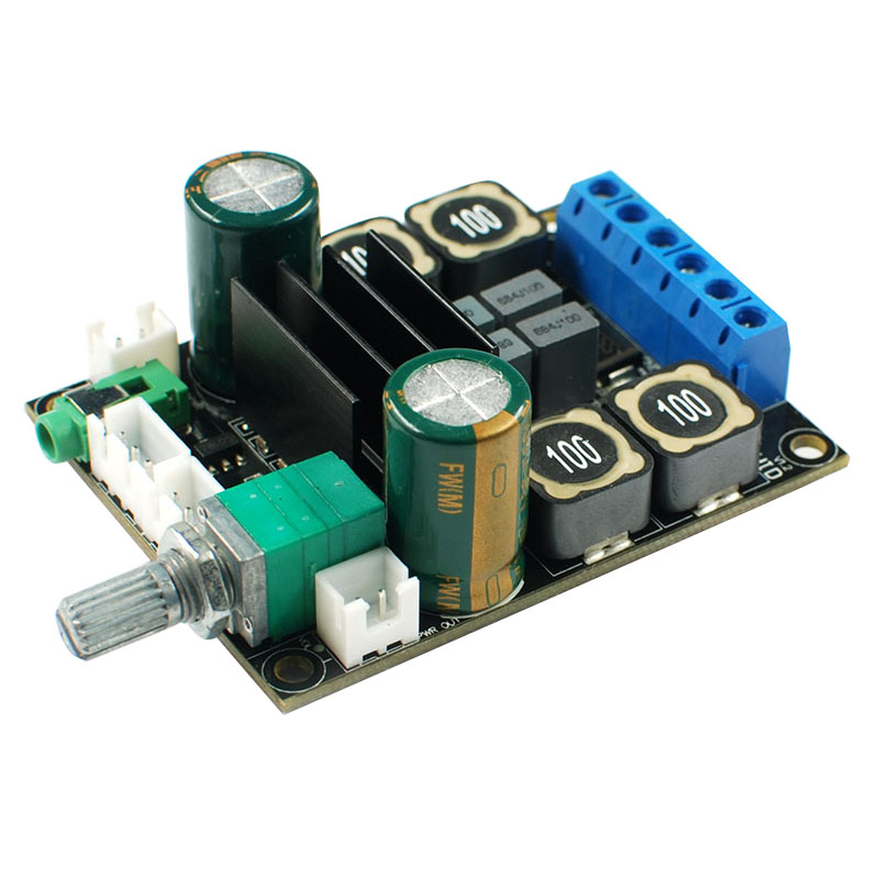 Digital <font><b>Amplifier</b></font> Audio Board TPA3116 Power Audio Amp 2.0 Class D <font><b>Amplifiers</b></font> Stereo <font><b>HIFI</b></font> <font><b>Amplifier</b></font> DC12-24V <font><b>2x50W</b></font> image